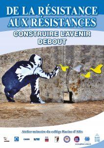 Affiche exposition De la Réssitance aux résistances