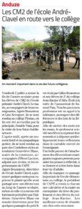 Midi-Libre du 20 Juillet